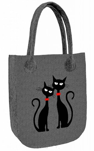 Filztasche »CITY Black Cats« FC20