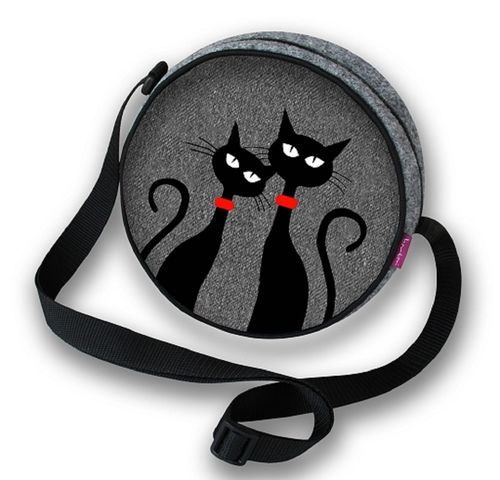 Filztasche »TWIST Black Cats« TT02
