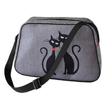 Handtasche NESI »Black Cats« TN01