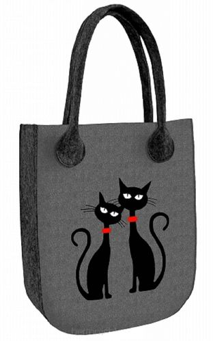 Tasche »CITY Black Cats« Anthrazit FCA08