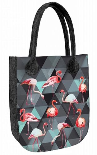 Tasche »CITY Flamingo« Anthrazit FCA07