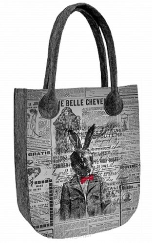 Sac Feutre »CITY Rabbit« TC69
