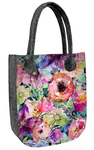 Shopper Filztasche »CITY Flora« TC75