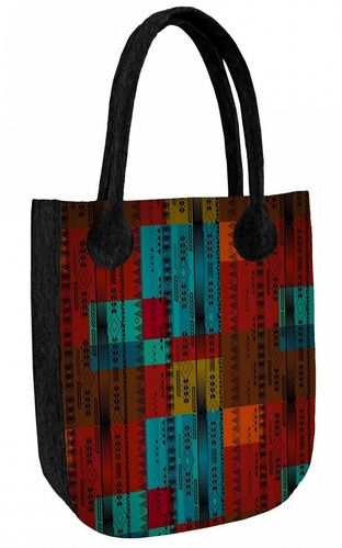 Shopper »CITY Colorado« Anthrazit FCA34