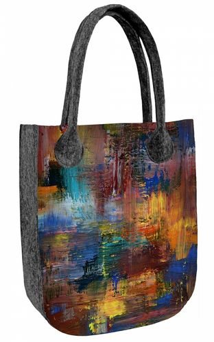 Sac Feutre »CITY Caracas« TC82
