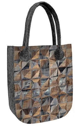 Shopper Filztasche »CITY Origami«