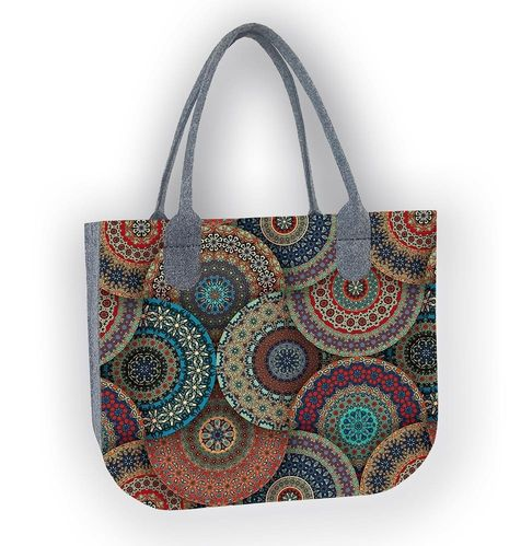 Shopper Filztasche LADY »Casablanca«