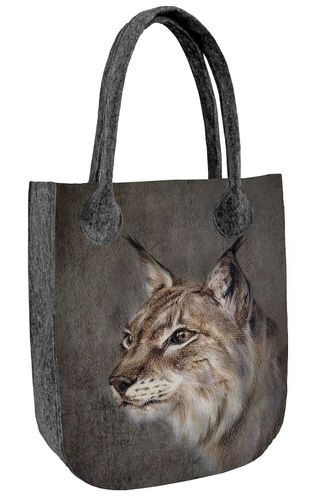 Shopper Filztasche CITY »Lynx«