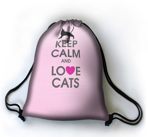 Turnbeutel SACK »Love Cats«