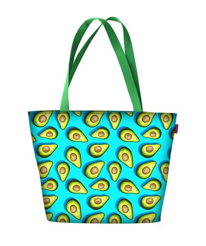 Stofftasche HOLIDAY »Avocado«