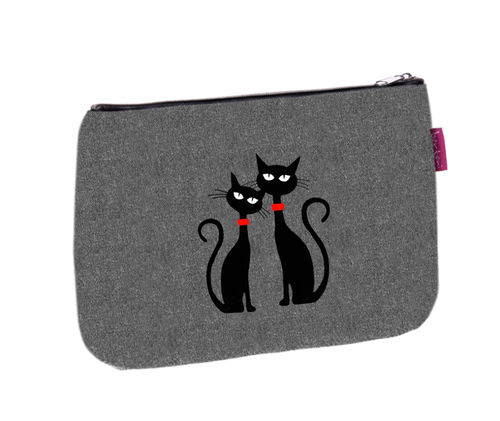 Kosmetiktasche SOLO »Black Cats« KS04
