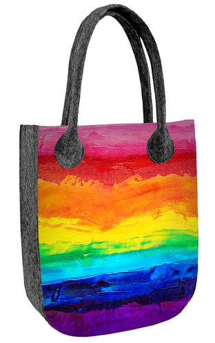 Filztasche CITY »Colorfull« BC09