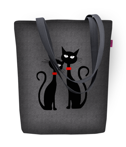 Shopper SUNNY »Black Cats«